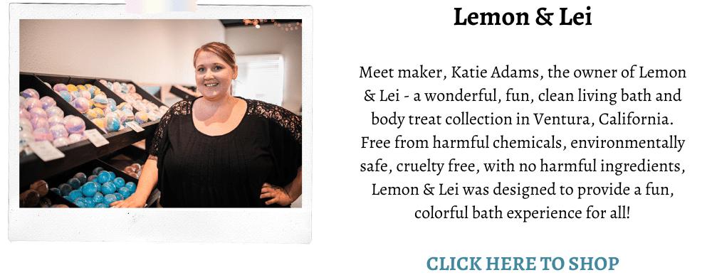 Lemon and lei
