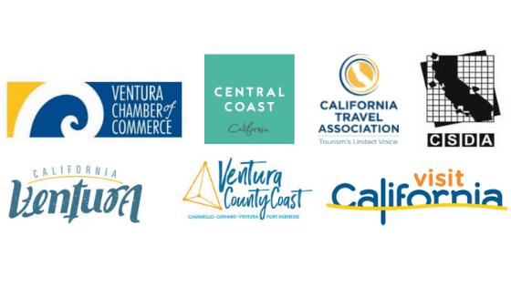 various tourism parter logos stacked