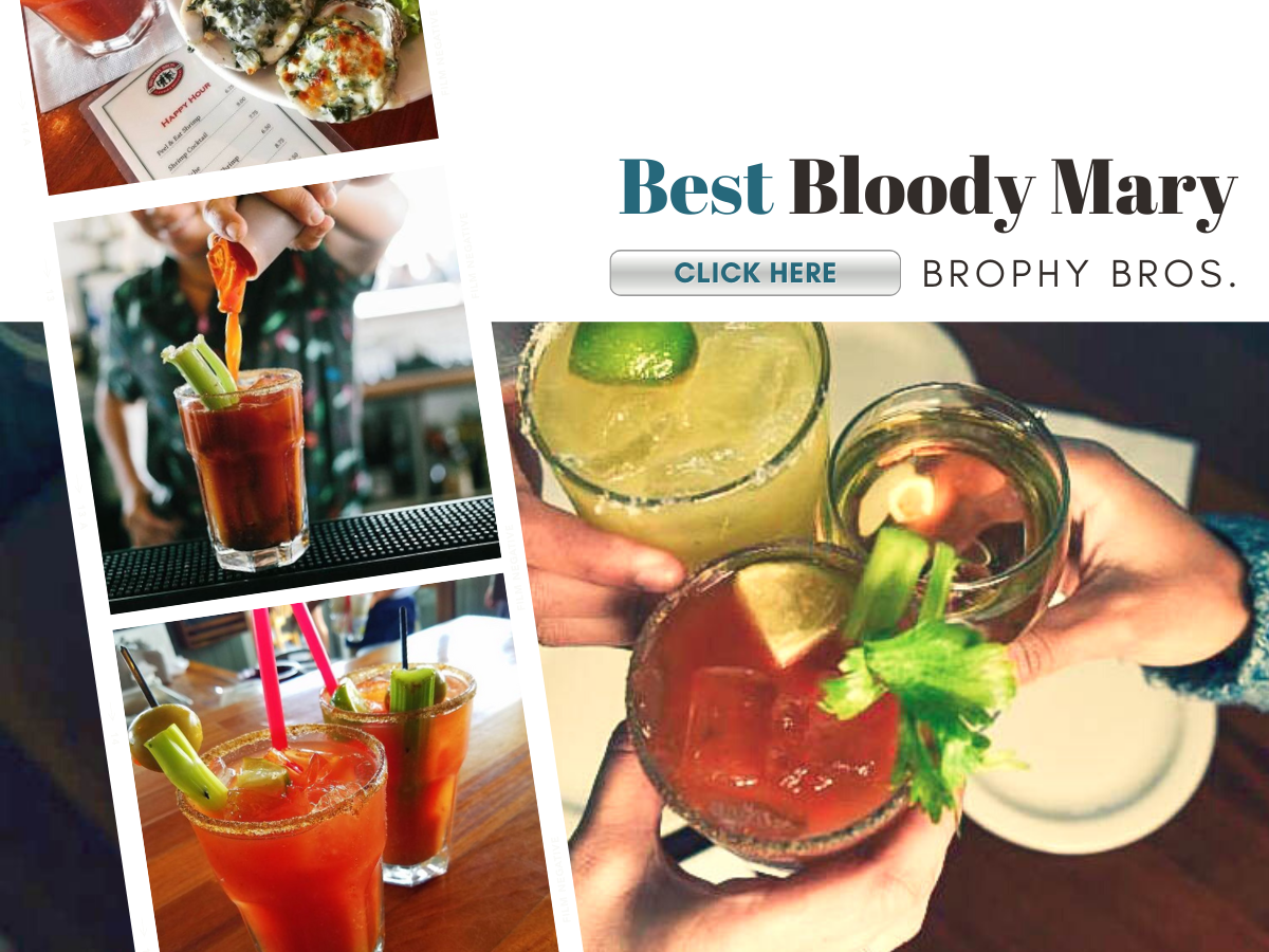 bloody mary cocktail and other drinks cheersing