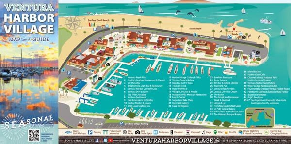 village map, get ready for this season of seaside fun